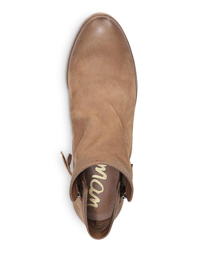 180363ebf38 Sam Edelman - Women s Packer Leather Low Heel Booties