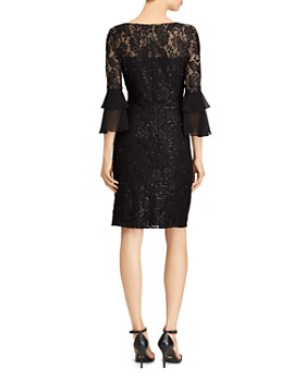 Ralph Lauren - Sequined Lace Dress