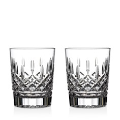 Waterford - Lismore Double Old Fashioned Glass, Set of 2
