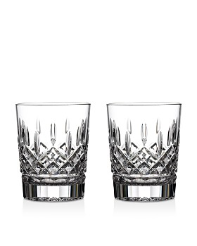 c300fafce0d Crystal Double Old Fashioned Glasses - Bloomingdale s