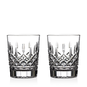 Waterford Lismore Double Old Fashioned Glass, Set of 2
