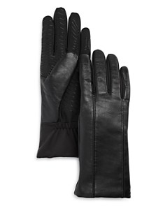 U/R Flex Seam Faux Fur-Lined Tech Gloves - Bloomingdale's_0