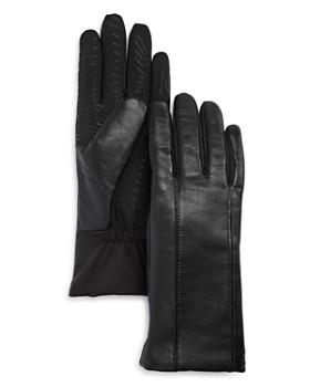 U/R - Flex Seam Faux Fur-Lined Tech Gloves