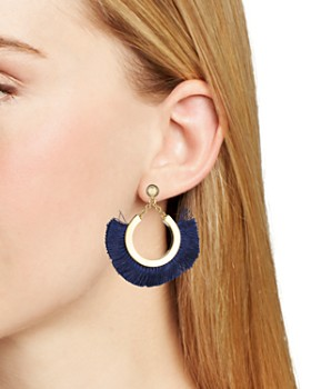 Trina Turk - Fringe Statement Earrings
