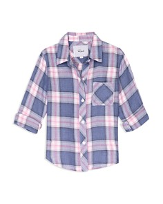 Rails - Girls' Hudson Plaid Shirt - Little Kid, Big Kid