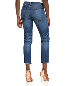 rag & bone/JEAN - Distressed Ankle Jeans in Dia