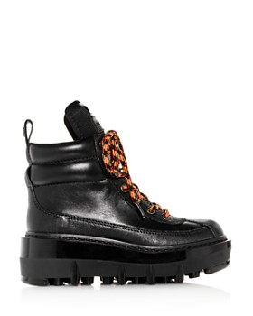 MARC JACOBS - Women's Shay leather Platform Wedge Hiking Boots