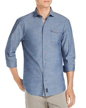 Johnnie-O - Lucas Chambray Regular Fit Shirt