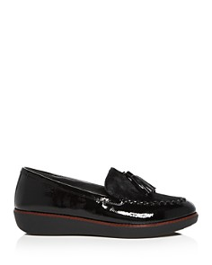 FitFlop - Women's Petrina Faux Calf Hair Moccasin Loafers
