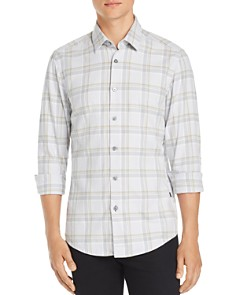 BOSS - Letterio Plaid Regular Fit Shirt