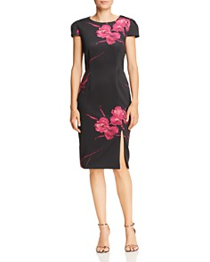 Betsey Johnson - Floral Sheath Dress