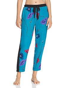 Josie - Freestyle Printed Satin Pants