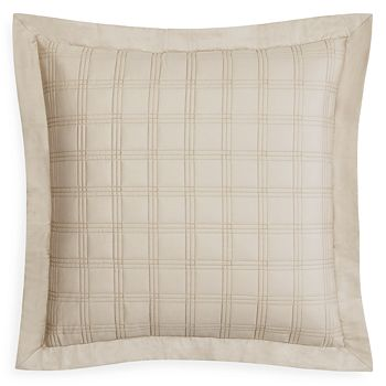 Home Treasures - Block Quilted Euro Sham