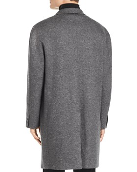 John Varvatos Collection - Easy Fit Double-Faced Overcoat