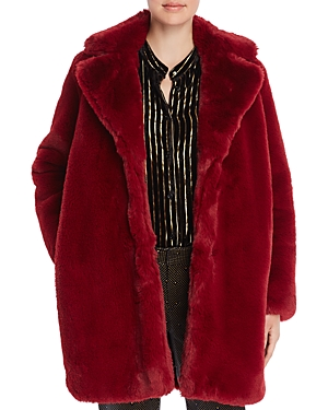 Mkt Studio Marili Faux Fur Coat