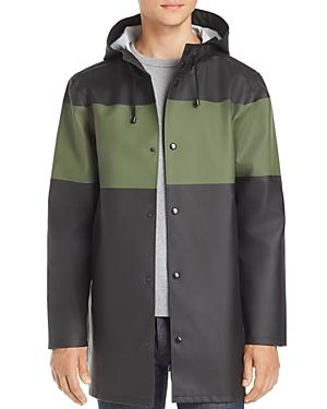 Stutterheim Stockholm Color-Block Rain Coat - 100% Exclusive
