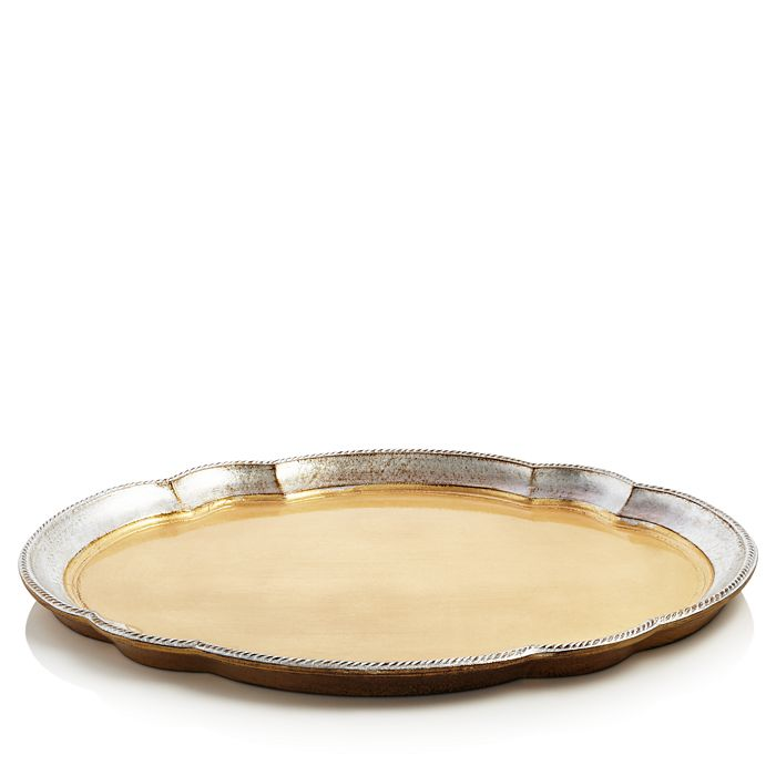 VIETRI - Florentine Large Oval Wood Tray - 100% Exclusive