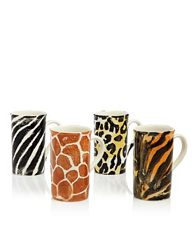 VIETRI - Into the Jungle Animal Skin Latte Mugs, Set of 4 - 100% Exclusive