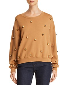 Alice and Olivia - Gleeson Embellished Sweater