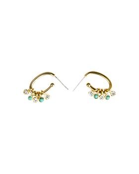 Jules Smith - Vita Hoop Earrings