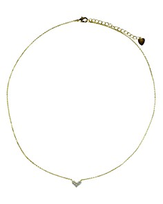 """Jules Smith - Love Me Necklace, 14"""""""