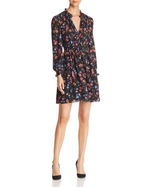 kate spade new york Meadow Print Smocked Dress