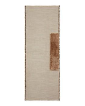 Gaynor - Salice Faux Fur Detail Wrap
