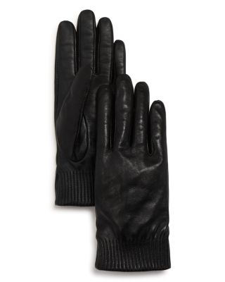 Leather Tech Gloves by Canada Goose