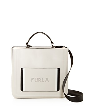 Furla - Reale North South Large Convertible Leather Tote