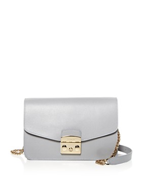 ac6e24b7158 Furla - Metropolis Small Leather Shoulder Bag ...