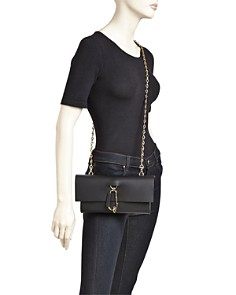 ZAC Zac Posen - Belay Medium Leather Convertible Crossbody Clutch