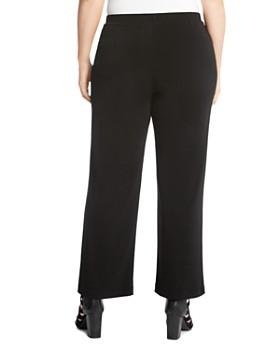 Karen Kane Plus - Crepe Straight-Leg Pants