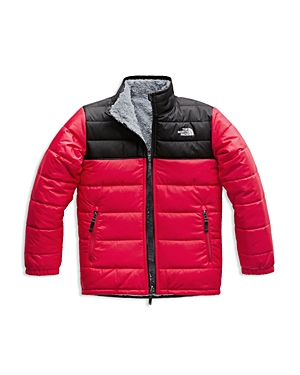 The North Face Boys' Reversible Mount Chimborazo Quilted & Fleece Jacket - Little Kid, Big Kid
