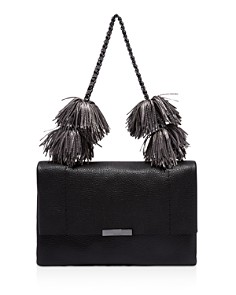 Ted Baker - Leather Pom-Pom Shoulder Bag