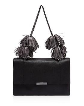 1e7cfe042 Ted Baker - Leather Pom-Pom Shoulder Bag ...