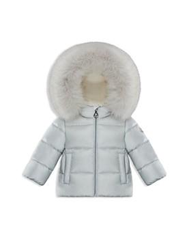 Moncler - Unisex Teiki Fur-Trimmed Down Jacket - Baby