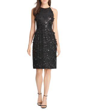 Eliza J Sequin & Petal Applique Dress 3088582