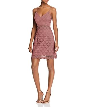 Aqua Body-Con Lace Dress - 100% Exclusive