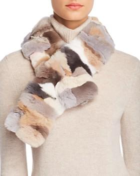 Giorgio Salvini - Barcellona Rex Rabbit Fur Scarf - 100% Exclusive