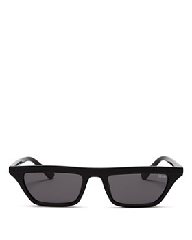 Quay - Women's Finesse Slim Square Sunglasses, 55.5mm