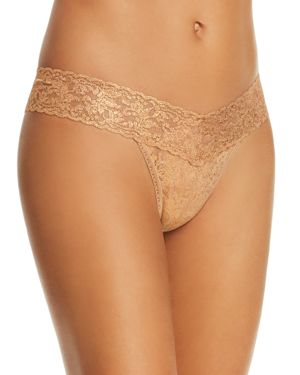 Hanky Panky Stardust Shimmer Low-Rise Thong