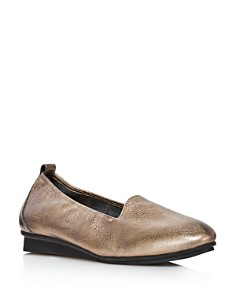 Arche - Women's Ninolo Metallic Leather Flats
