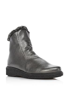 Arche Women's Joelys Metallic Leather & Faux-Fur Boots