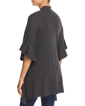 Elie Tahari - Lucy Ruffled Merino Wool Sweater