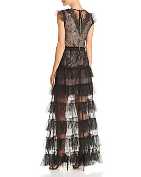 BRONX AND BANCO - Lolita Illusion Lace Gown