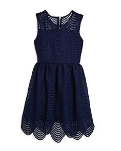 Bardot Junior - Girls' Scalloped Spiral Lace Dress - Big Kid