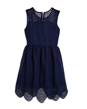 Bardot Junior - Girls' Scalloped Spiral Lace Dress - Big Kid