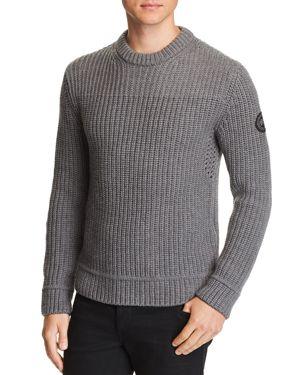 Galloway Regular Fit Merino Wool Sweater, Iron Grey