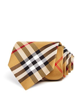 Burberry - Clinton Basic-Check Silk Classic Tie