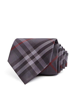 Burberry Clinton Basic-Check Silk Classic Tie